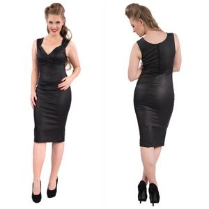 075cffd2a80d53 Steady Vintage The Devil Wears Diva Wiggle Dress